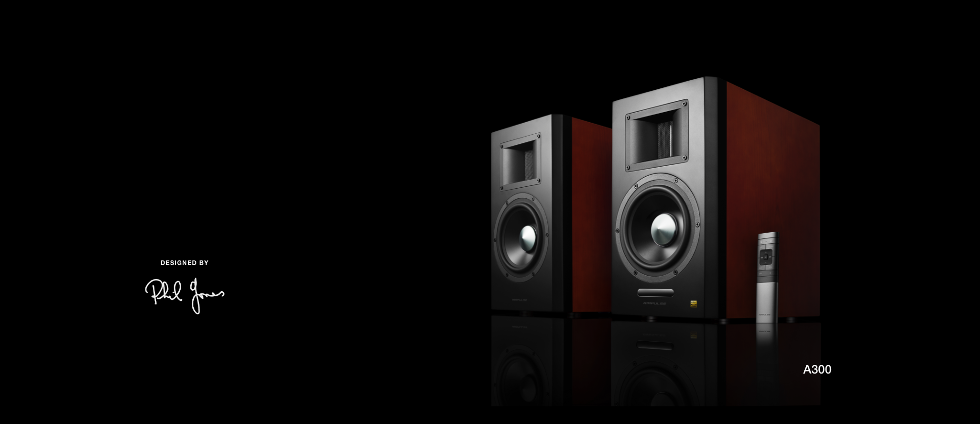 Airpulse Audio Airpulse speakers are designed using the most advanced state of the art R&D and testing equipment led by the internationally renowned audio designer Phil Jones.
