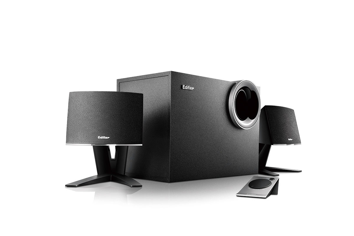 m1380 2 1 speaker subwoofer sound system edifier usa. Black Bedroom Furniture Sets. Home Design Ideas