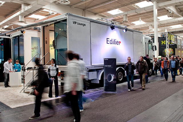 Edifier International Attends CeBIT 2011