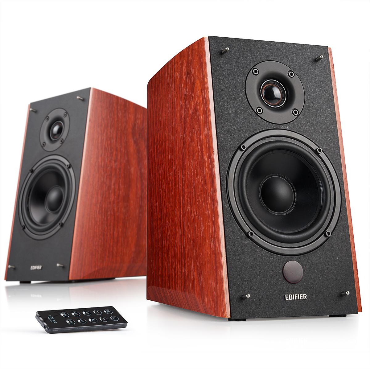R2000DB Bookshelf Speaker Bluetooth And Optical [Edifier USA ]