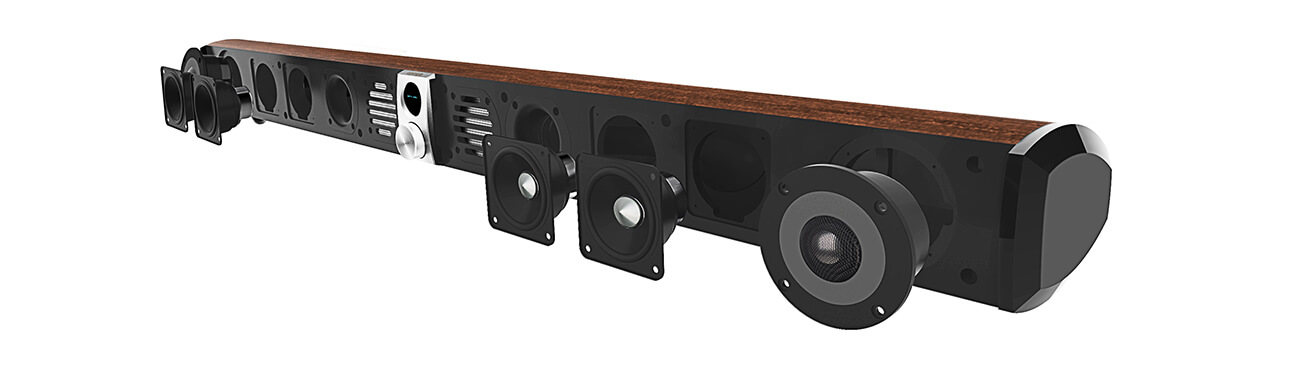 Edifier S50DB Hi-Res Sound Bar Speaker With Bluetooth
