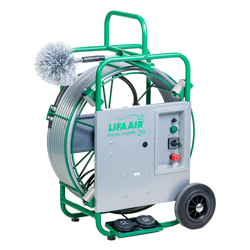 SpecialCleaner 20 Air Duct Cleaning Machine - LIFA air