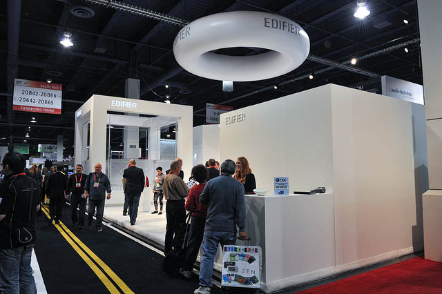 Edifier Unveils New Products at CES 2012