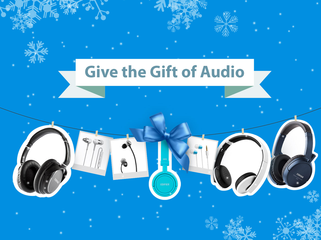 Give the Gift of Audio This Holiday Season