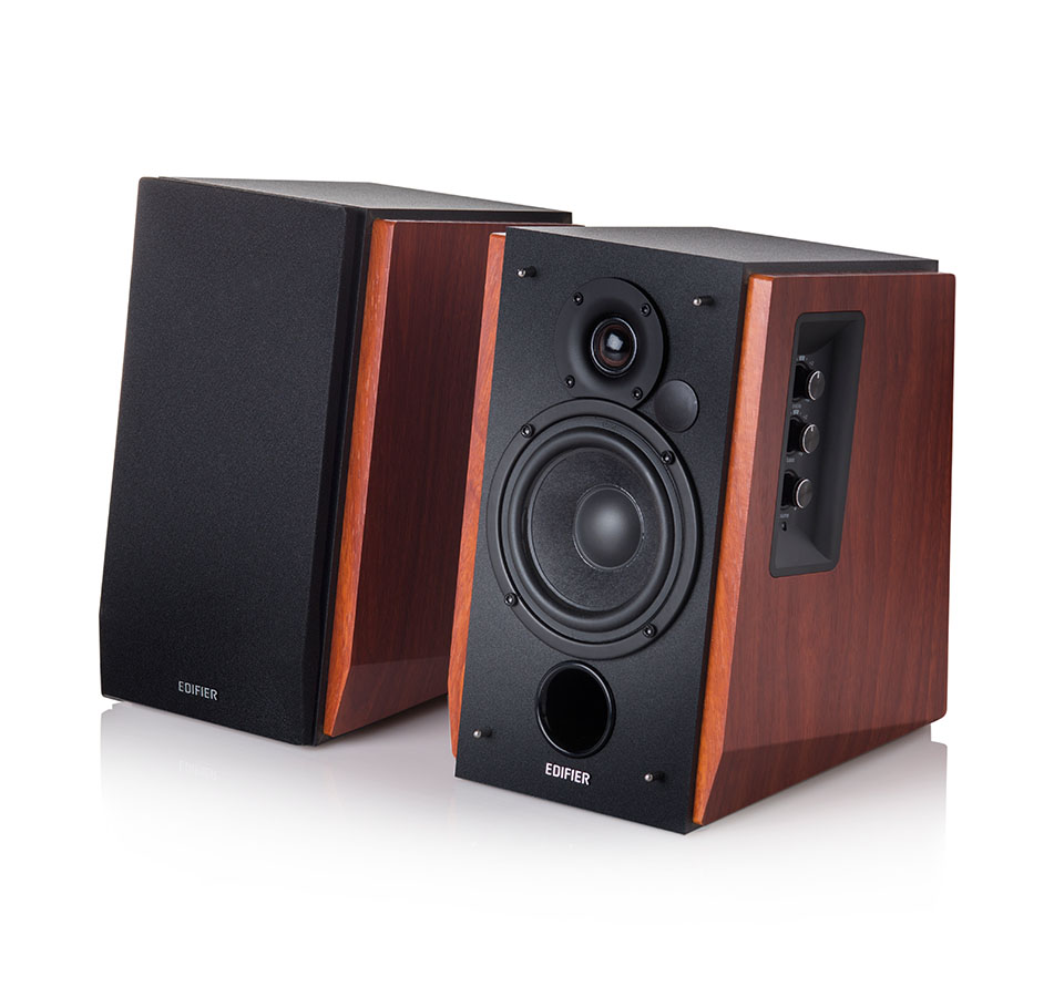 Quality Sound The Versatile R1700BT Bluetooth Bookshelf Speakers