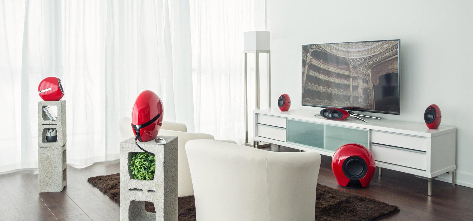 e255 Home Theater 5.1 Surround Sound Speakers - Edifier USA