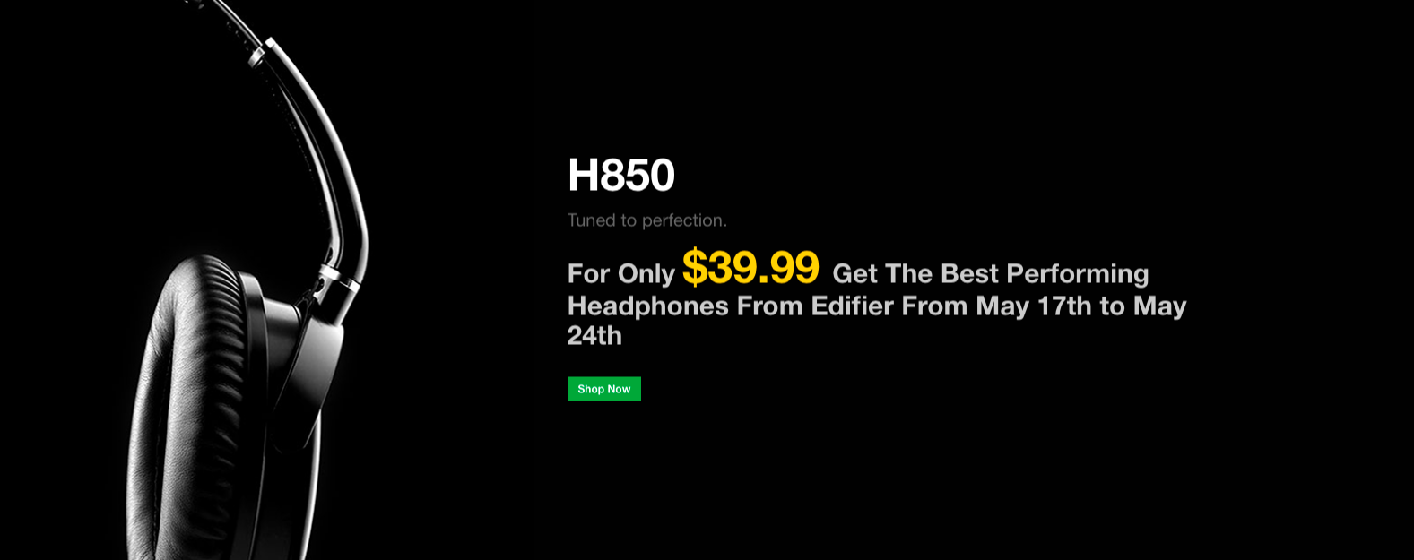 Get Your H850 Headphones For Only $39.99
