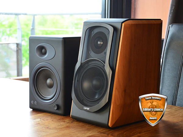 Techtesters review Edifier S1000DB vs Audioengine A5+