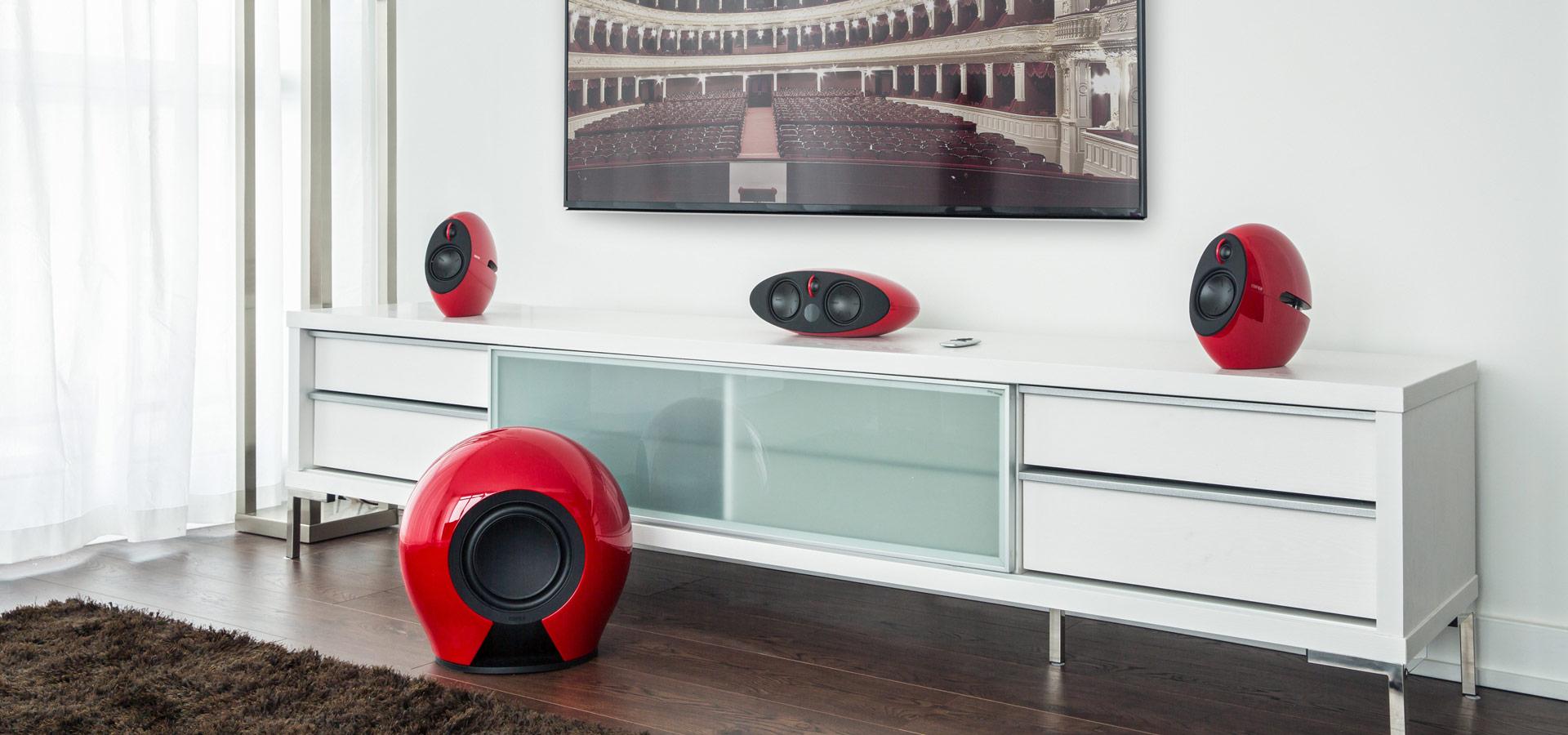 e255 Luxury Home Theatre Speaker System