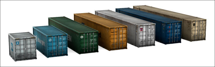 The Most Common Shipping Container Sizes And Shipping Container Types Forest Shipping